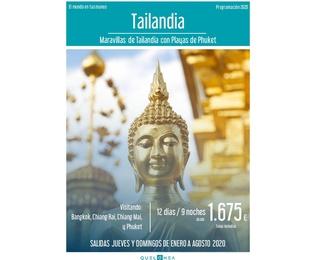 Tailandia. Programación 2020