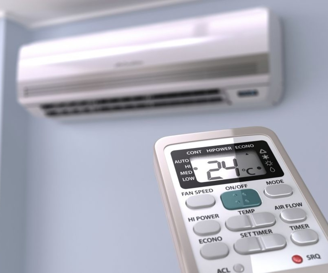 Cómo utilizar el aire acondicionado con un bebé en la casa