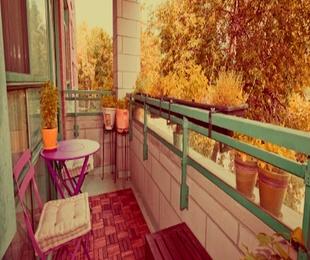 Sácale partido a tu balcón para disfrutar del buen tiempo.