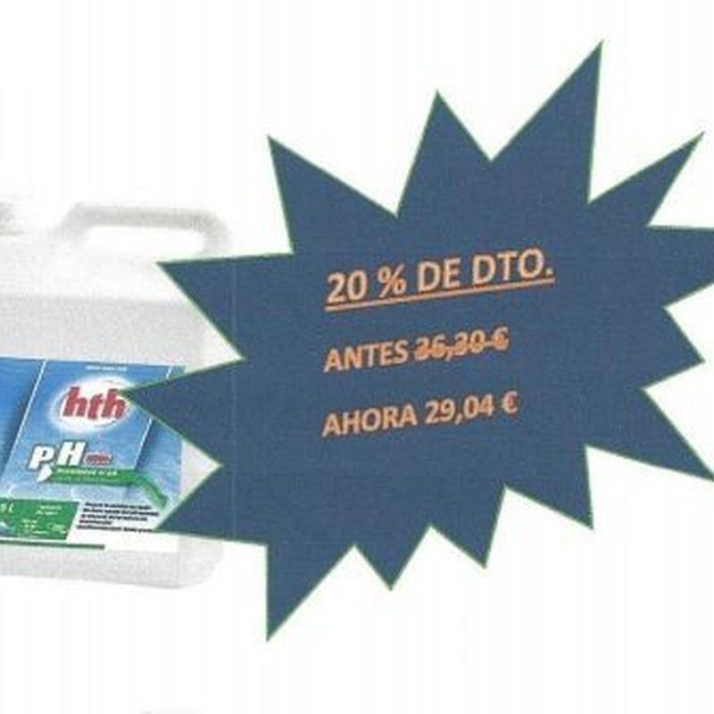 HTH PH- 5 L.: Productos y servicios de Piscinas Castilla - Construcción y Rehabilitación