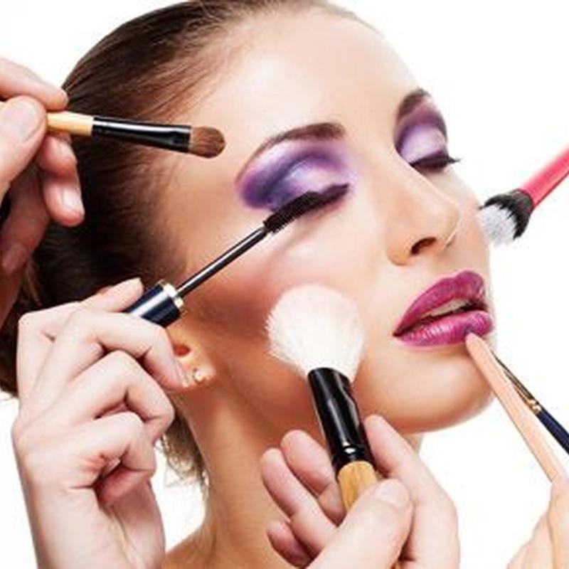 Maquillaje de caracterización: Cursos peluquería y estética de Centro de Formación de Peluquería y Estética Virgen de los Llanos Moliné