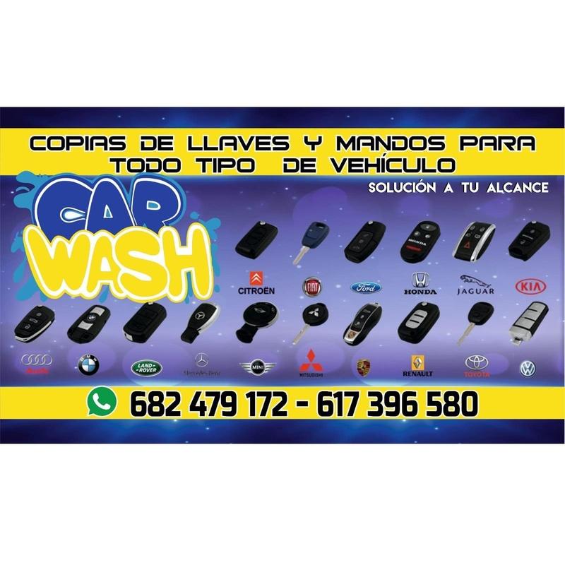 Copia de llaves y mandos para todo tipo de vehículos: Catálogo de Car Wash Alcorcón
