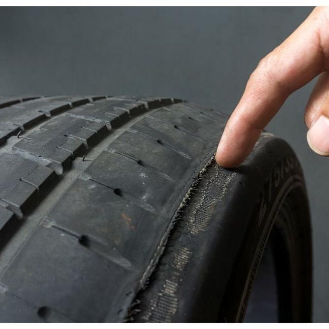 El desgaste en los neumáticos