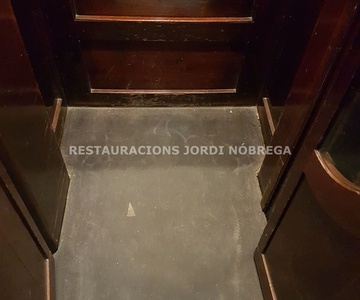 Restauración de ascensores en Barcelona, por Restauracions Jordi Nóbrega