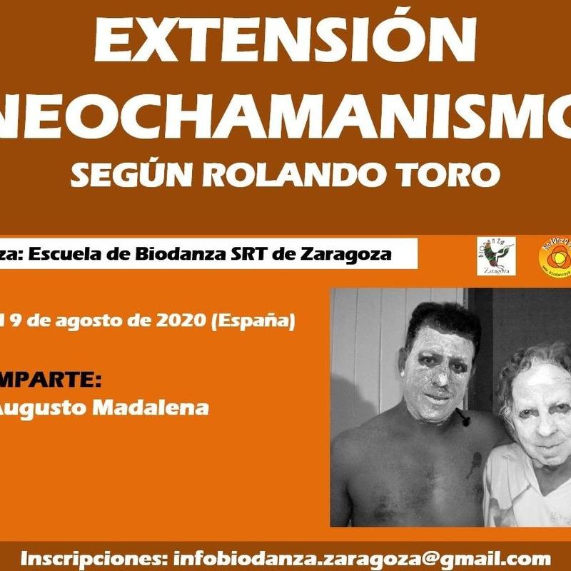 Extensión Neochamanismo en Biodanza según Rolando Toro Araneda: CURSOS de Augusto Madalena