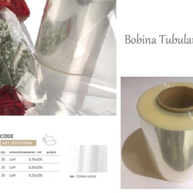 BOBINA TUBULAR NEUTRA 35 my REF: BT010TNN // MEDIDA 1: 0,16 x 200MT PRECIO: 17,25€// MEDIDA 2: 0,20 x 200MT PRECIO: 21,75€// MEDIDA 3: 0,25 x 200MT PRECIO: 27,35€
