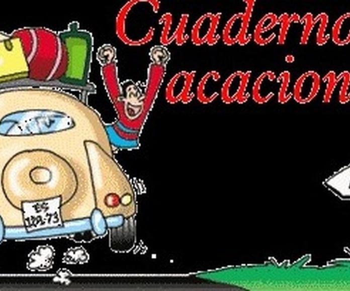 CUADERNOS DE VACACIONES EN www.lapuertadelangel.com