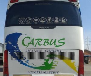 Empresas de autobuses en Vitoria | Autocares Carbus