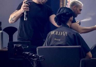 Corte y peinado personalizado