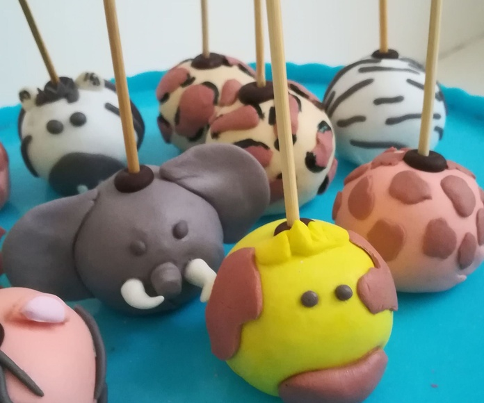 cake pops safary