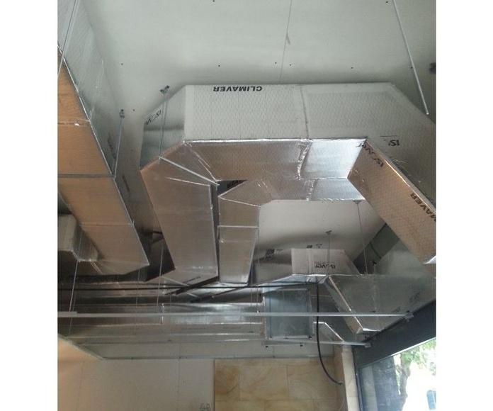 Conductos de ventilación y climatización: Productos y Servicios de AISCLIMER
