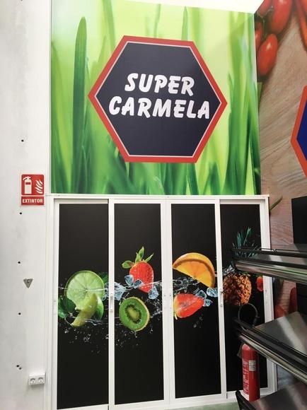Vinilos impresos para carnicería Cádiz