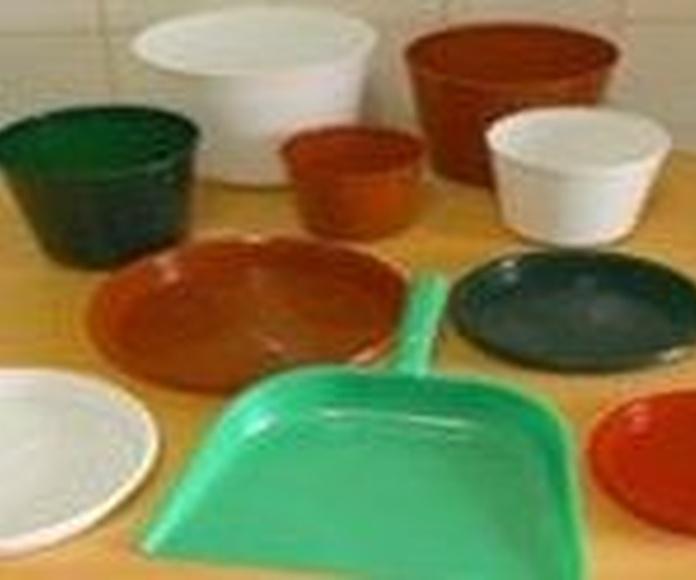 Fabricación de macetas platos de maceta y recogedores Bizkaia