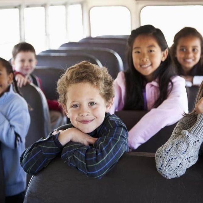 Ventajas del transporte escolar