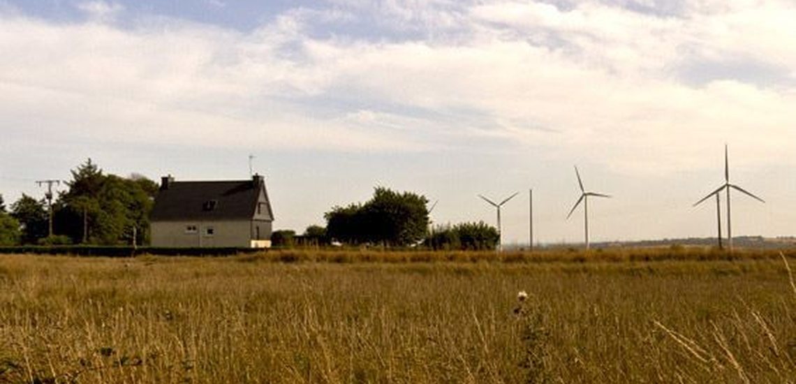 Generadores de aire biomasa en granjas en Valladolid