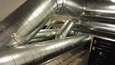 Instalación de Sistema de extracción e intracción de humo para restaurante Le VRAI en IBIZA