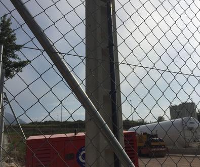 Instalación de enlace en planta de gas natural licuado 2016