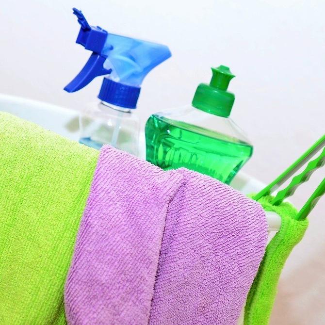 ¿Sabes el significado del color de los paños de limpieza?
