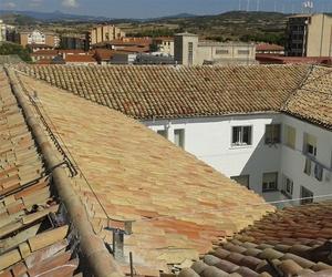 Instalación de líneas de vida en Pamplona