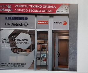 Reparación de electrodomésticos en Bilbao