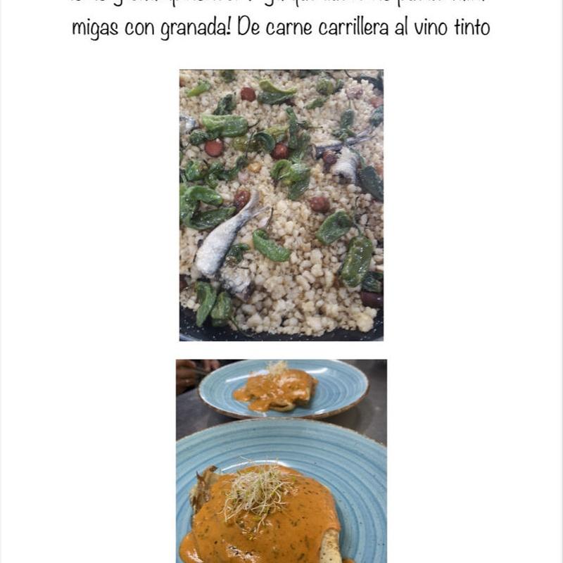 Comida para llevar : Carta, Menús y Bodega de Restaurante Bonavista (Club de Campo Elche)