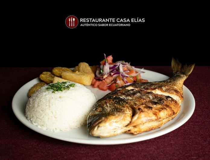 Dorada al Carbón: Carta de Restaurante Casa Elías