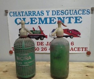 botellas de sifon