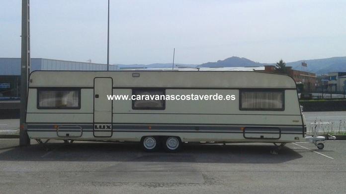 Caravana Bürstner Ocasión Doble Eje