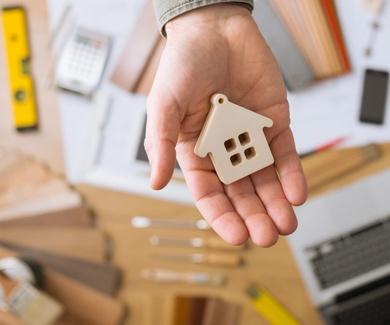 ¿Puedo no pagar el IRPF en la reinversión de un inmueble mediante hipoteca?
