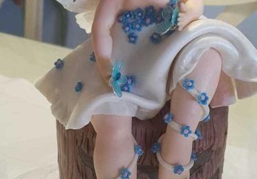 Muñecos de fondant para reposteria