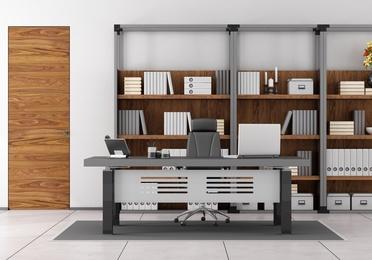 Estanterías metálicas para oficinas