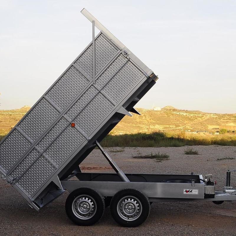 Basculante de carga - Remolques JOGE