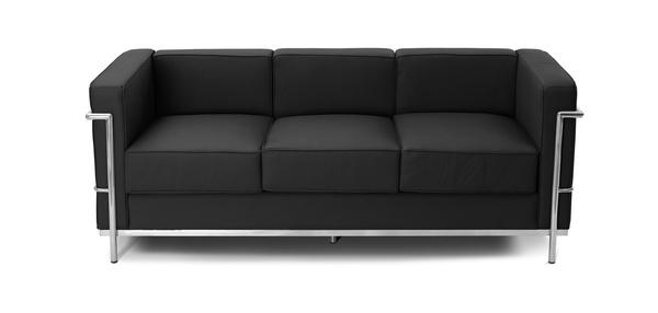 Variedades de sillones. Sofá Miró triplaza negro: Productos de Constan