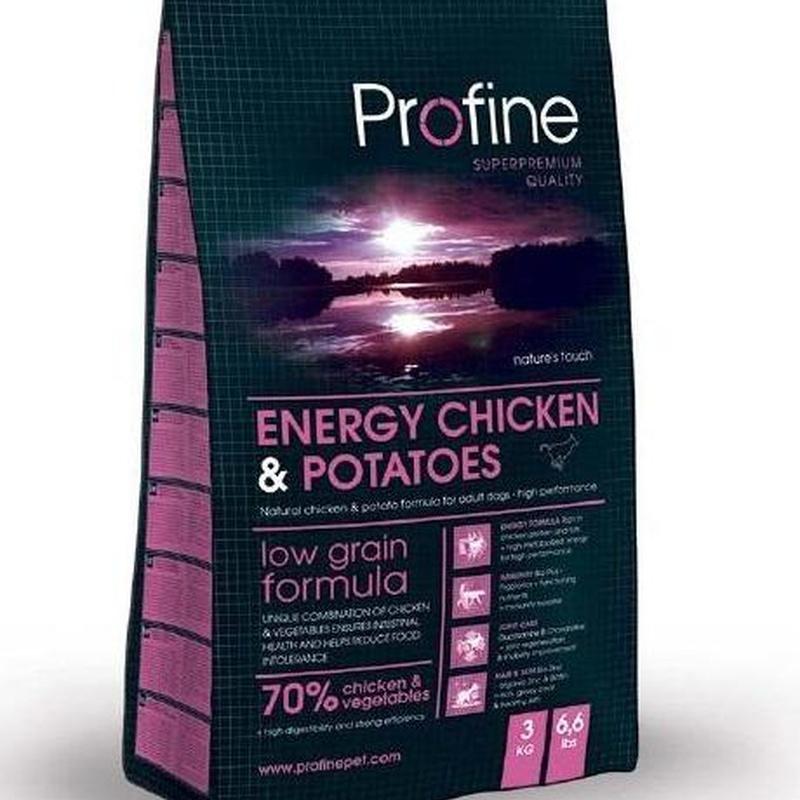 Profine Energy Chicken & Potatoes: Productos y Servicios de Narval Mascotas