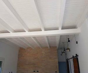 Instalación techo de madera