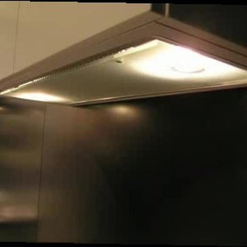 apiración grupo filtrante para armario de cocina
