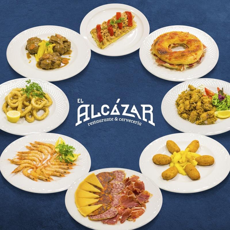 Raciones, bocadillos y roscas: ¿Qué ofrecemos? de Restaurante El Alcázar