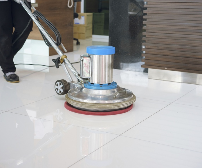 Pulido y abrillantado de suelos: Servicios de Limpiezas Karkach