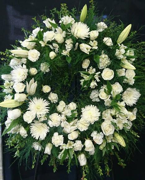 Coronas funerarias: Floristería de Floristería Imabel