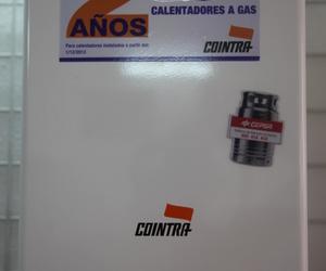 Calentadores Cointra con dos años de garantía