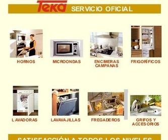 Marcas: Productos y Servicios de Servicio Oficial Teka