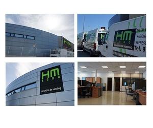 Todos los productos y servicios de Instalación y suministro de máquinas de vending: Vending HM 2000