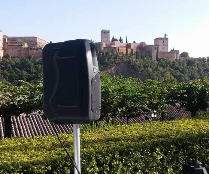Alquiler Equipos Sonido en Granada
