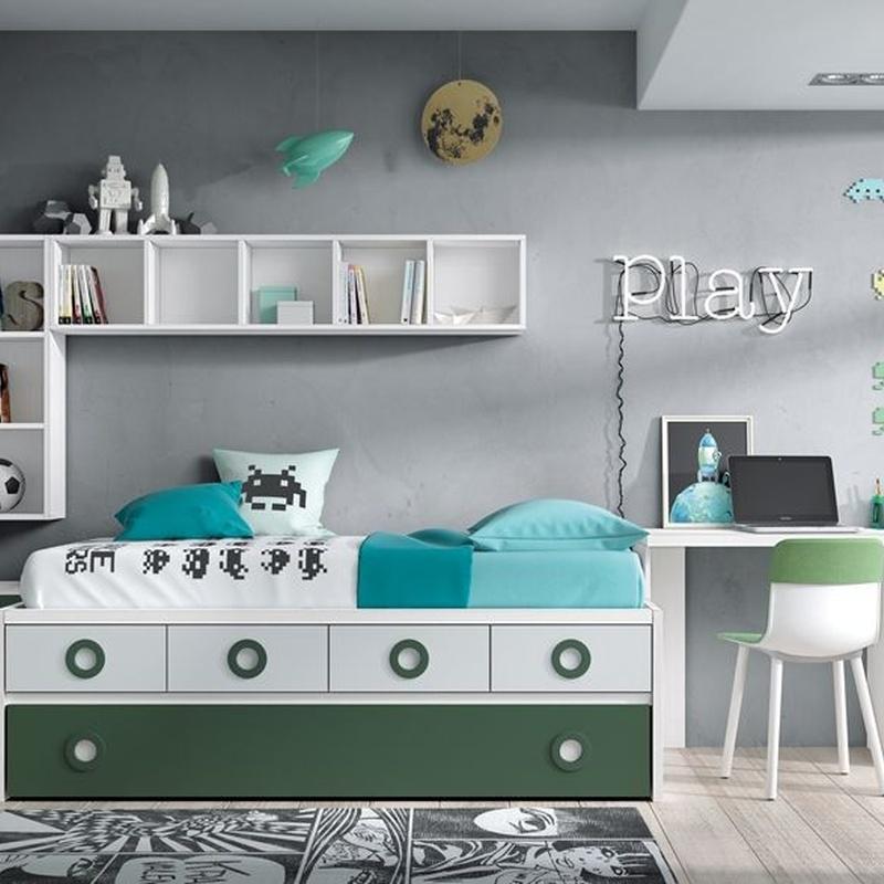 Dormitorios juveniles: Productos de Muebles Seseña