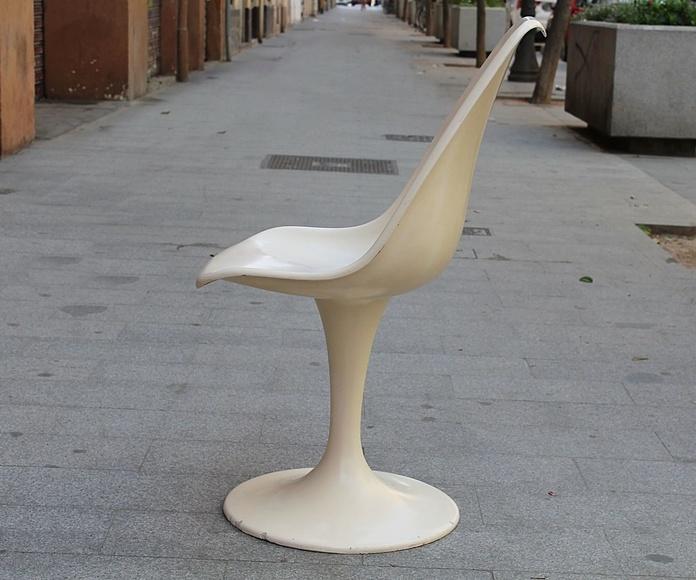 Silla Tulip ¡¡VENDIDA¡¡: Artículos  de Ruzafa Vintage