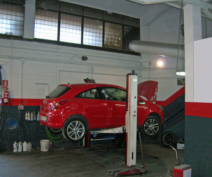 Mecánica en general : Servicios Talleres Valrodri de Talleres Valrodri