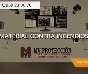Material contra incendios en Huelva | MV Protección