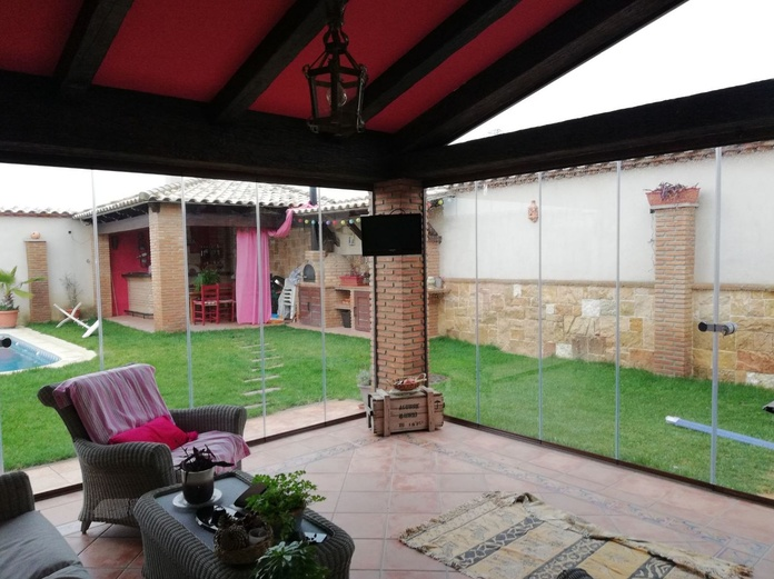 Cortinas de cristal Badajoz