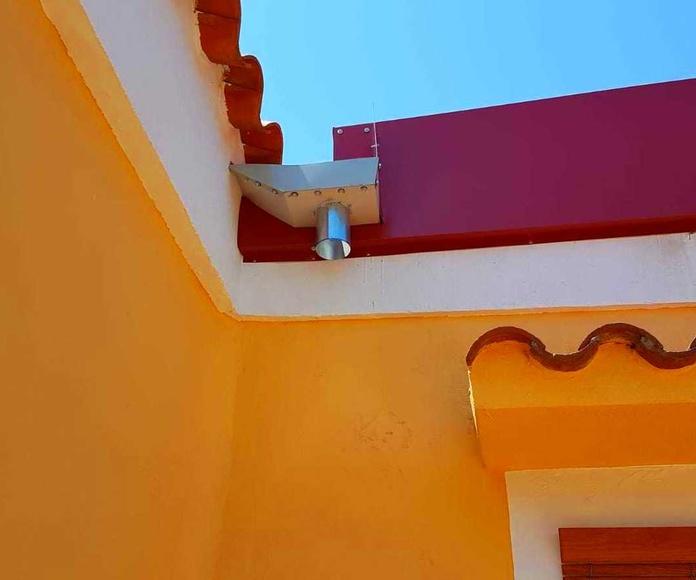techado chalet en Alginet