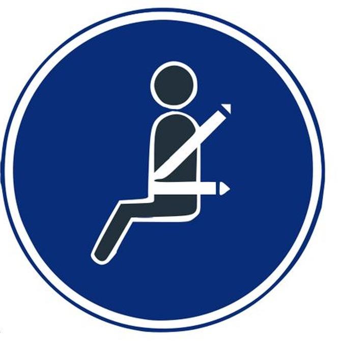 Conceptos básicos sobre el uso del cinturón de seguridad en autobús